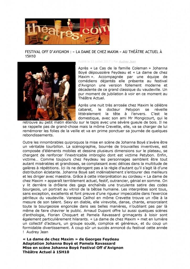 Théâtres.com